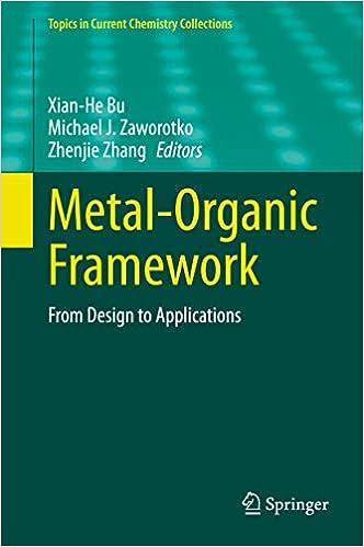 Metal Organic Framework From Design To Applications Topics In Current Chemistry Collections Bu Xian He Zaworotko Michael J Zhang Zhenjie Ebook Amazon Com