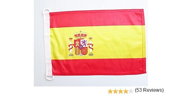 AZ FLAG Bandera Nautica de ESPAÑA 45x30cm - Pabellón de ...