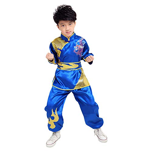 Meijunter Chinese Kung Fu Costume Tai Chi Martial Arts Stage Performance Uniform