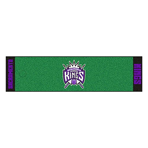 Fanmats NBA Sacramento Kings Nylon Face Putting Green Mat by Fanmats