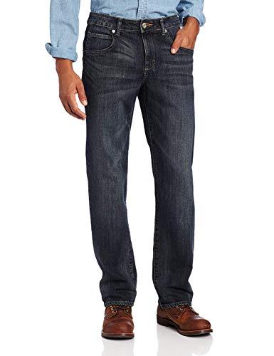 (LEE Men's Modern Series Straight Fit Jean, Snakebite, 36W x 30L)