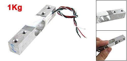 sourcingmap® Célula de carga del transductor de celda 1 kg (2,2 libras) báscula plataforma: Amazon.es: Hogar