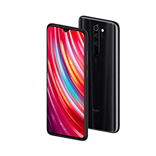 "Xiaomi Redmi Note 8 Pro 64GB, 6GB RAM 6.53"" LTE GSM 64MP Factory Unlocked Smartphone - Global Model (Mineral Grey)"