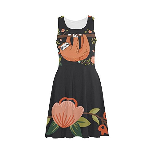 Women Sleeveless Giraffe Dress Design3 Sunglasses D Dress Story Sundress with Women Summer wntZxq0gxY