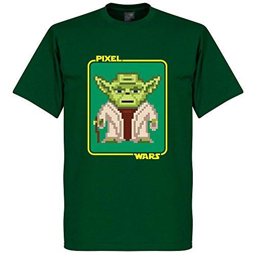 Pixel Wars Yoda T-Shirt - grün