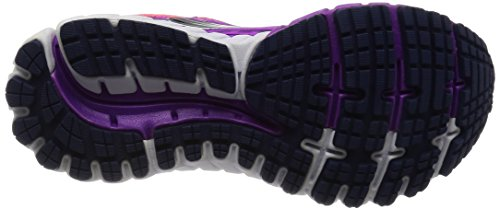 Brooks Women's Ghost 9 W Running Shoes Pink (Purplecactusflower/Divapink/Patriotblue) fIsTPdNI2