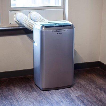 Avallon 12,000 BTU Dual Hose Portable Air Conditioner - Platinum and Slate Grey by Avallon