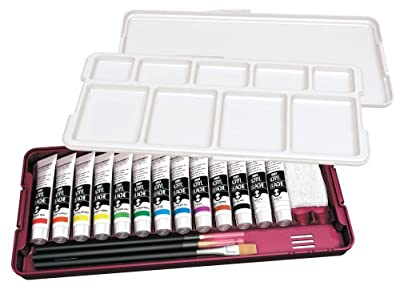 Turner acrylic gouache 13 colors Noble set N13B 20ML (japan import)