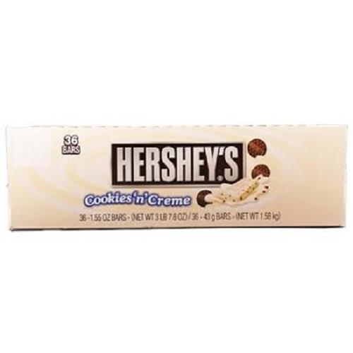 HERSHEYS COOKIES N CREME 1.55 oz Each ( 36 in a Pack )