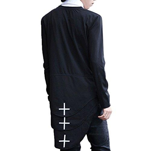 extended t shirt side split - 3