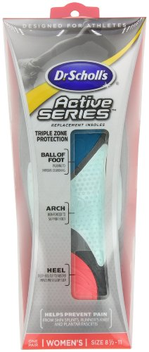 Dr. Active Replacement Insoles, Women's