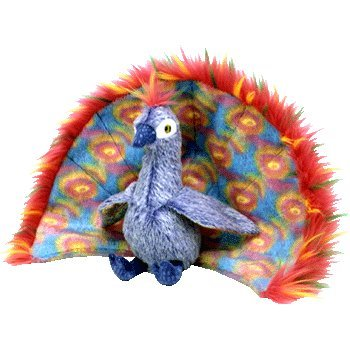 Ty Beanie Baby Plush ( Peacock / Flashy ) from Ty