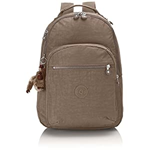 Kipling Clas Seoul, Large backpack, 45 cm, 25 liters, Beige (True Beige)