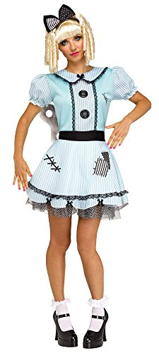 Fun World Women's Wind-Up Doll, Multi, S/M Size 2-8