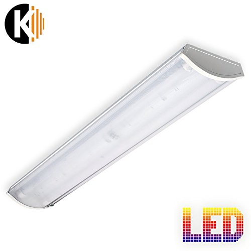 Lampe VEGA 2x18W KALTWEISS Wannenleuchte IP20 Deckenleuchte Büroleuchte Bürolampe Kellerleuchte Garagenleuchte