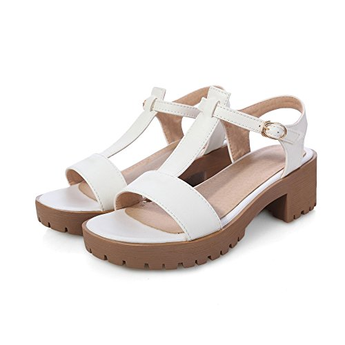 Summer Womens Sandals Platform Leather