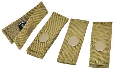 UPC 816211010369, Hazard 4 Molle-Pal Mounting Joints for Mil-Spec Webbing Systems, Coyote