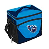 Logo Brands NFL Tennessee Titans 24 Can Cooler, One Size, Navy