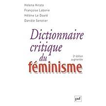 Dictionnaire critique du féminisme [nouvelle édition]