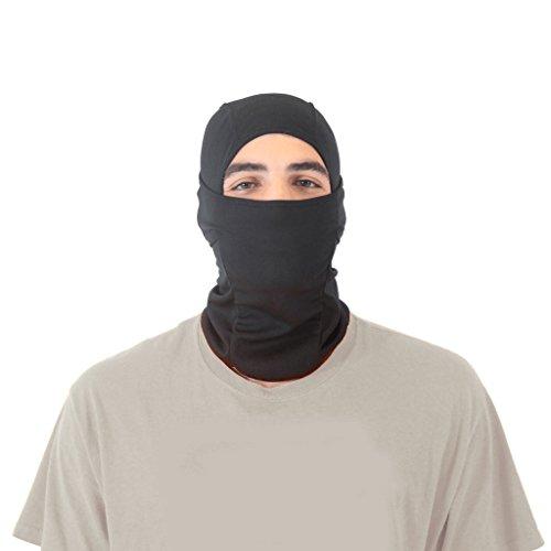 Ninja Noggin Balaclava Ski Mask (Black)