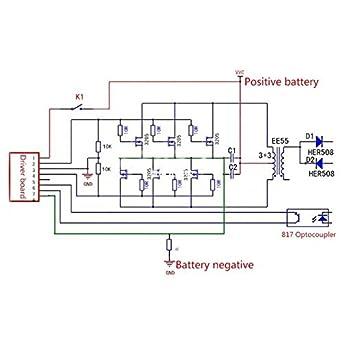 AST Works SG3525 LM358 13-40KHz Inverter Driver Board