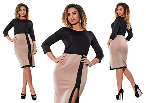 Dd.up Solides Manches Longues Sexy Jupe Courte Taille Plus Robe Moulante Blanche Des Femmes