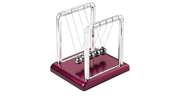 LQIAN Escultura Cuna Balance Pendulum Escritorio Mesa Decoración ...