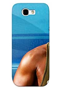 Ellent Design Adrian Doorbal Pain Gain Case Cover For Galaxy Note 2 For New Year's Day's Gift