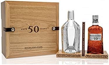 Highland Park Highland Park 50 Years Old Single Malt Scotch Whisky 42,5% Vol. 0,7l in Holzkiste - 700 ml