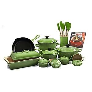Le Creuset Palm 20-piece Cookware Set
