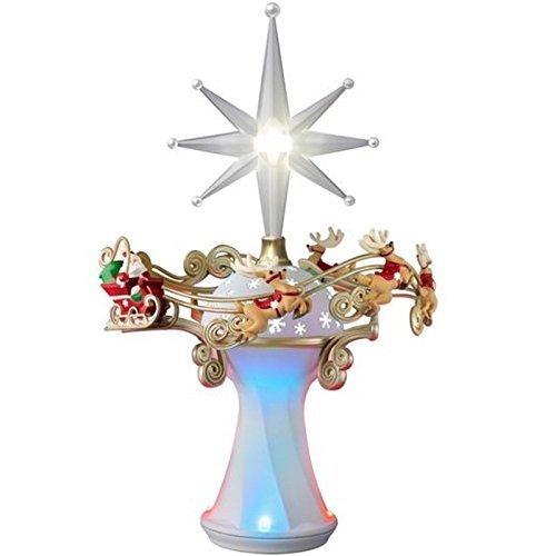 Here Comes Santa Claus! Tree Topper - 2014 Hallmark Keepsake - Tree Hallmark Topper