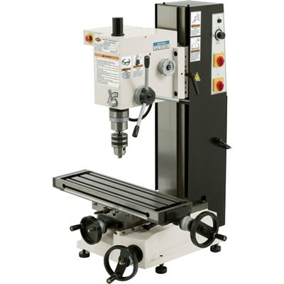 Drill Press Mill (SHOP FOX M1110 6-Inch by 21-Inch Variable Speed Mill and Drill)