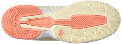 Tint Coral chalk Court Femme Adidas Barricade white Ecru qxYIfzPw
