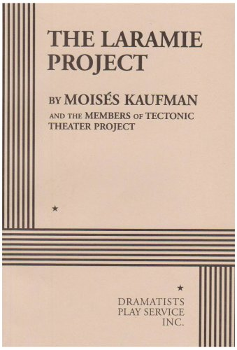 Pdf Arts The Laramie Project