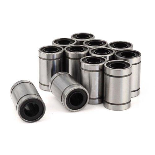 12pcs LM8UU Linear Ball Bearing Bush Bushing for 8mm Rod RepRap 3D Printer Prusa Mendel i3 Kossel Delta etc.. Sintron