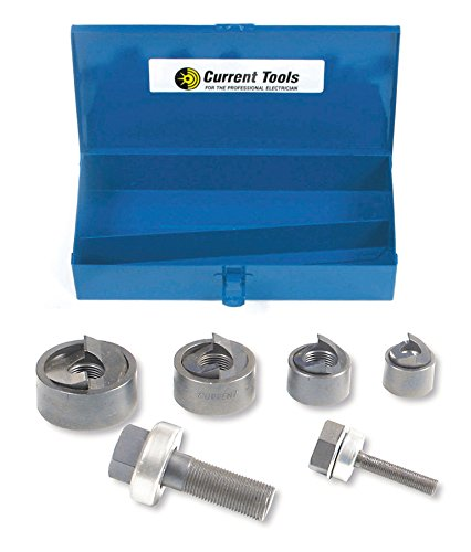 Current Tool 158PM Manual Knockout Sets, 1-1/2 to 1-1/4-Inch by Current Tool