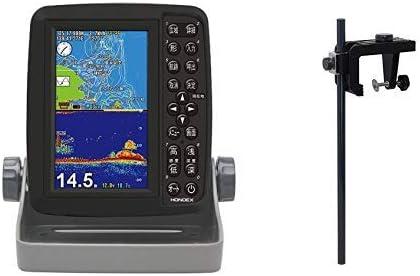 HONDEX(ホンデックス) 魚群探知機 ポータブルGPSプロッター魚探 (PS-611CN) & 万能パイプ (BP05) GPS内蔵 5型ワイド