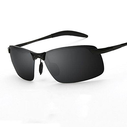 Anti Black WYYY Clásico UV De 100 Gafas Aire Libre Luz Protección Polarizada black Sol Color UVA Black Solar Gafas Conducción Gafas Hombres De Protección Black 11x4nqpZrw