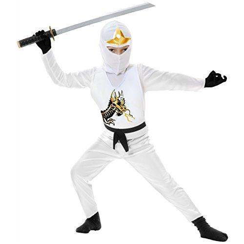 Ninja Avenger II Child Costume White -