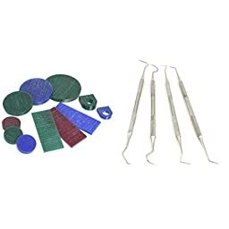 11Pc Jewelers Jewelry Wax Assortment & 4 Wax Sculpting Carving Carver Tools Picks
