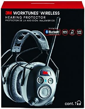 2de95cedea1 3M Worktunes Wireless Hearing Protection with Bluetooth Technology and AM/FM  Radio ...