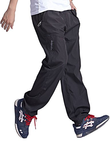 Used, Crazy Mens Sports Straight Fleece-Lined Cotton Jogging for sale  Delivered anywhere in Canada