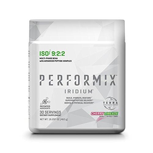 Iridium 9 (PERFORMIX IRIDIUM ISOi 9:2:2 Multi-Phase BCAA with Advanced Peptide Complex- 30 Servings Cherry Limeade)