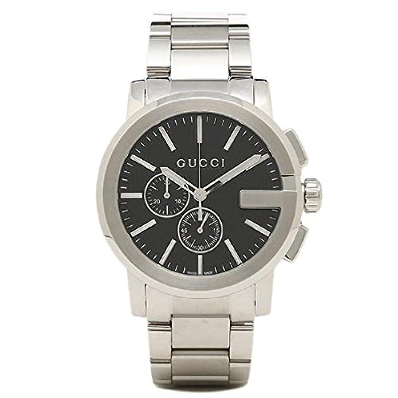 GUCCI G 크로노 남성 시계 YA101204