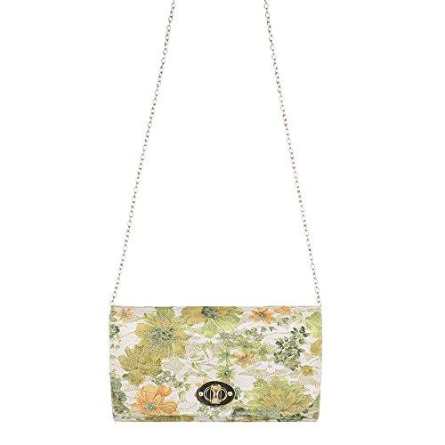 Ital-DesignClutch-tasche Bei Ital-design - Bolso de botón Mujer Grün Multi