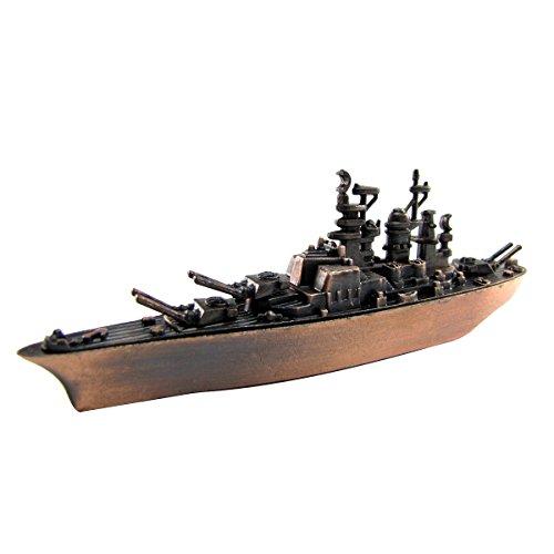 BB-40 Navy Battleship Die Cast Miniature Replica Pencil Sharpener (Diecast Gift)