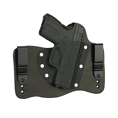 FoxX Holsters Springfield XD-S 9mm & .45 ACP in The Waist Band Hybrid Holster