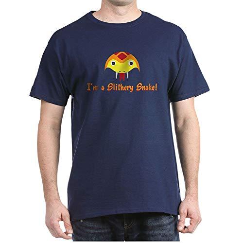 CafePress SLITHERY Snake Dark T Shirt 100% Cotton T-Shirt -