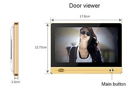 Mirilla digital wifi Peephole Ihome4 Rollup: Amazon.es: Bricolaje y herramientas