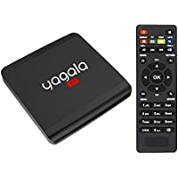 YAGALA Y7 Android TV Box Android 7.1 Quad Core 1GB/8GB Smart TV Box Support HDMI 4K 2.4 Wifi UHD Lan VP9 DLNA H.265 Media Player